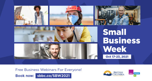 Small Business Week 2021 at SBBC