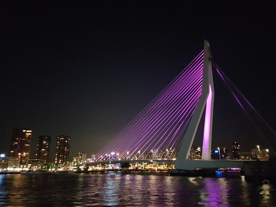 Erasmusbrug in Rotterdam<br/>Credits: @JacquelineZoon