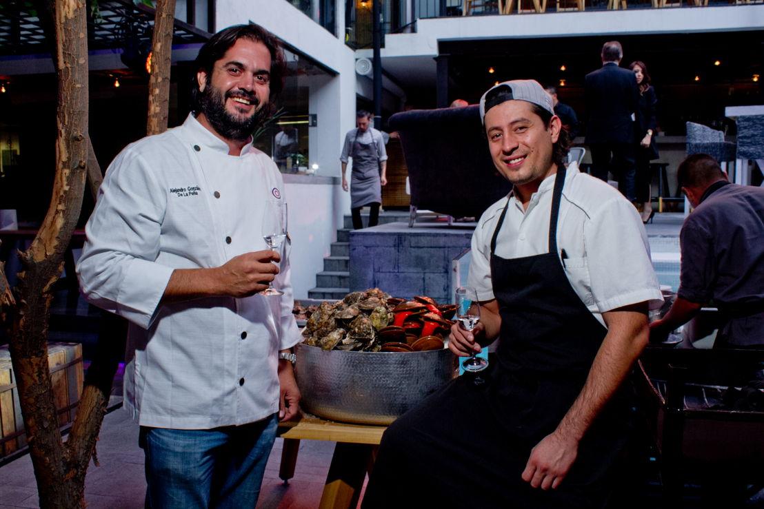 Chef Alejandro González de la Peña y Chef Tomas Bermúdez