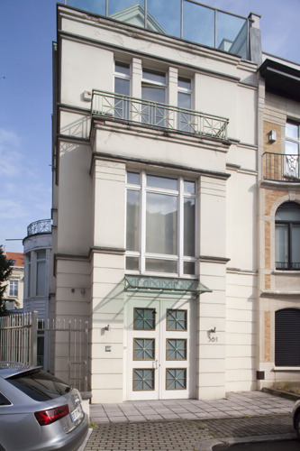 Maison de maître exclusive de nouveau en vente dans le Clos des Milliardaires à Bruxelles
