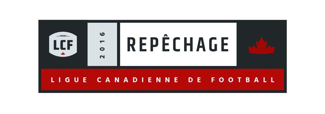 Logo du repêchage 2016 de la LCF.