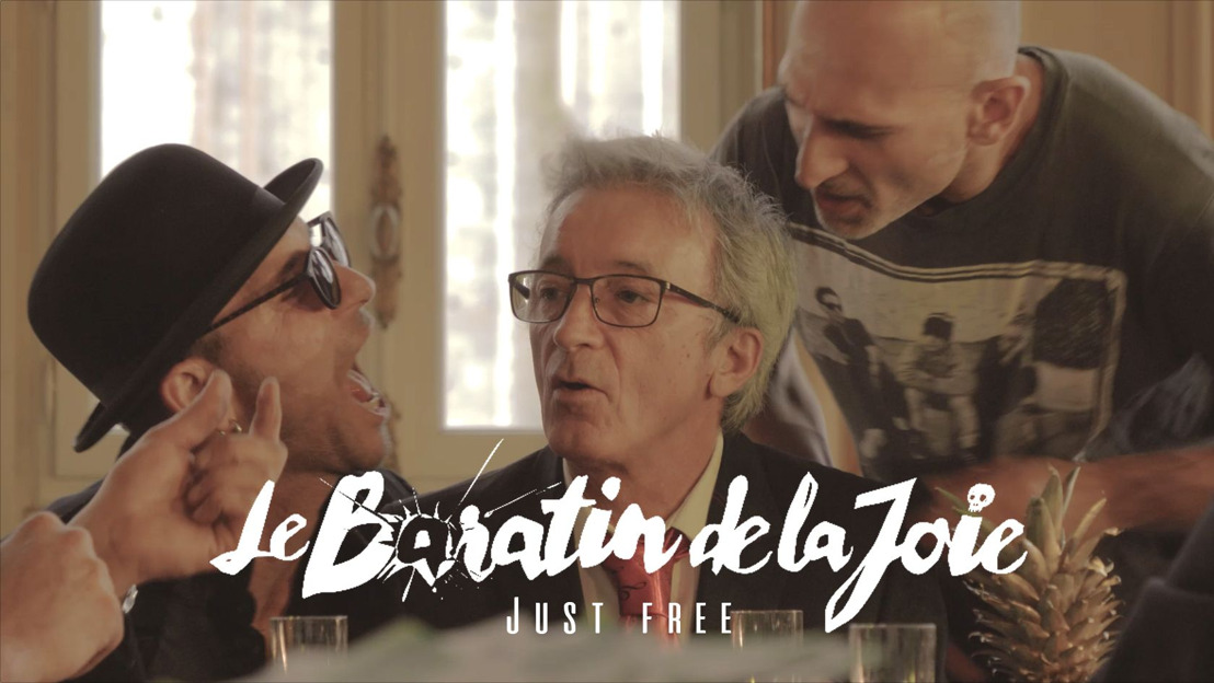 "LE BARATIN DE LA JOIE présente son nouveau titre ""Just Free"" avec la participation de Kemar de No One Is Innocent"
