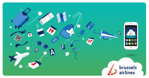 Brussels Airlines commence l'année de la digitalisation avec le lancement de son application mobile