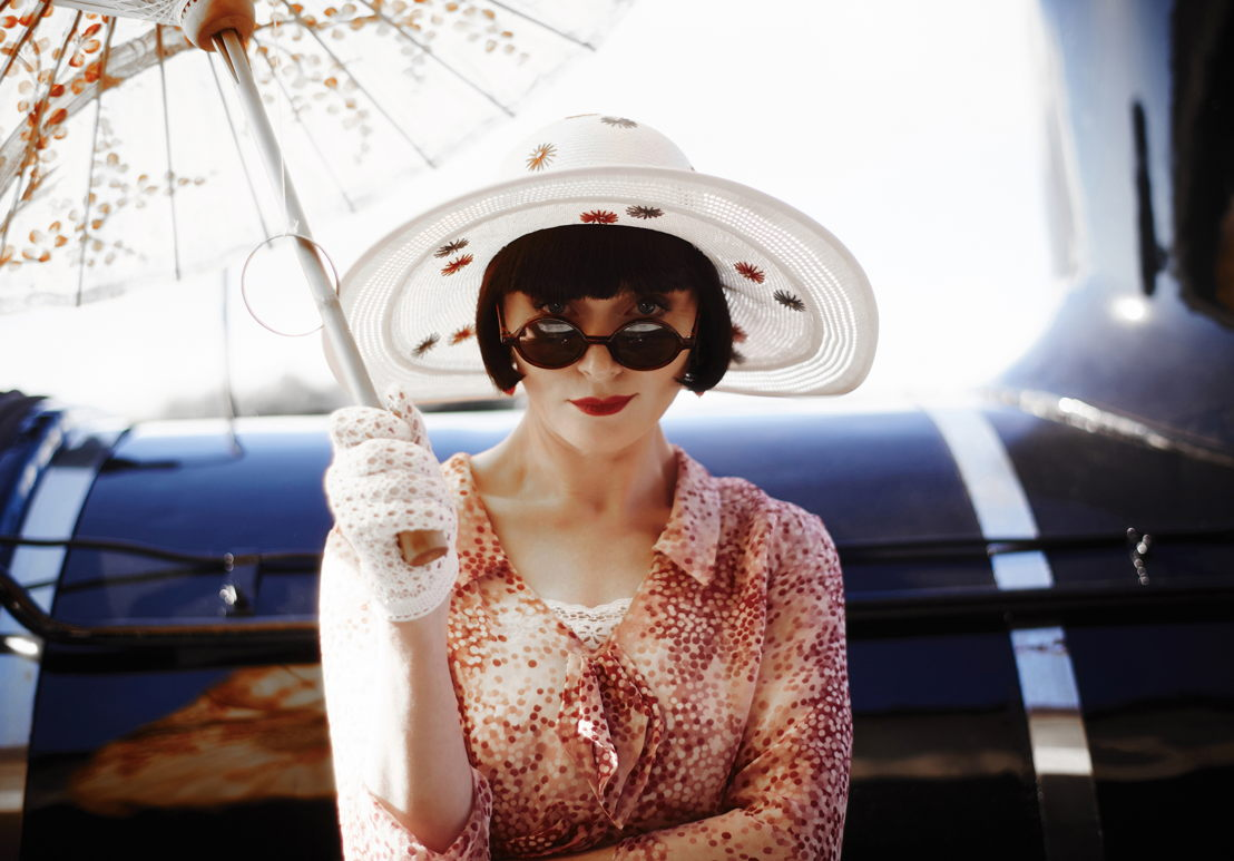 Essie Davis in Miss Fisher's Murder Mysteries
