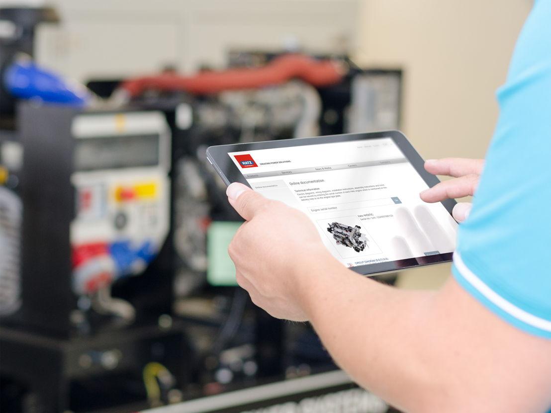 Hatz Online-Dokumentation bietet Kunden schnelle und aktuelle Informationen für den Einbau und Betrieb von Motoren