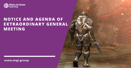 Notice and Agenda of Extraordinary General Meeting