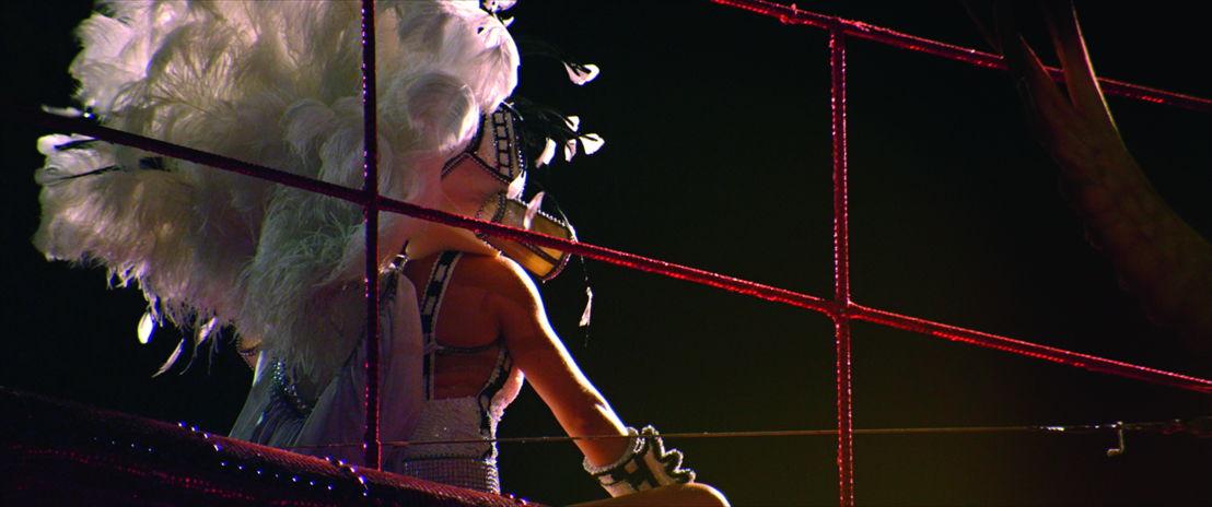 Sarah Morris. Film: Rio ( 2012)<br/>Red / HD Digital, 88 min. 33 sec. <br/>Courtesy of Parallax