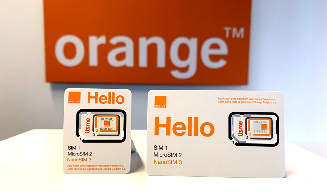 Orange Belgium introduces Half ID SIM cards to reduce its plastic consumption