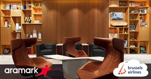 Brussels Airlines welcomes Aramark as a new catering partner for its lounges at Brussels Airport