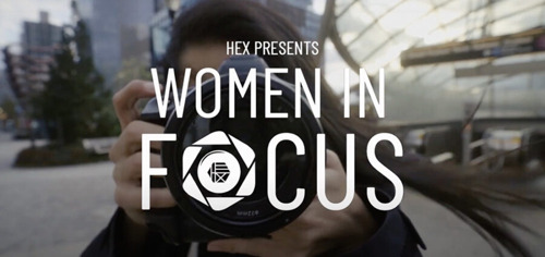 HEX Teams Up With Top Female Photographers For New Women In Focus Creative Series