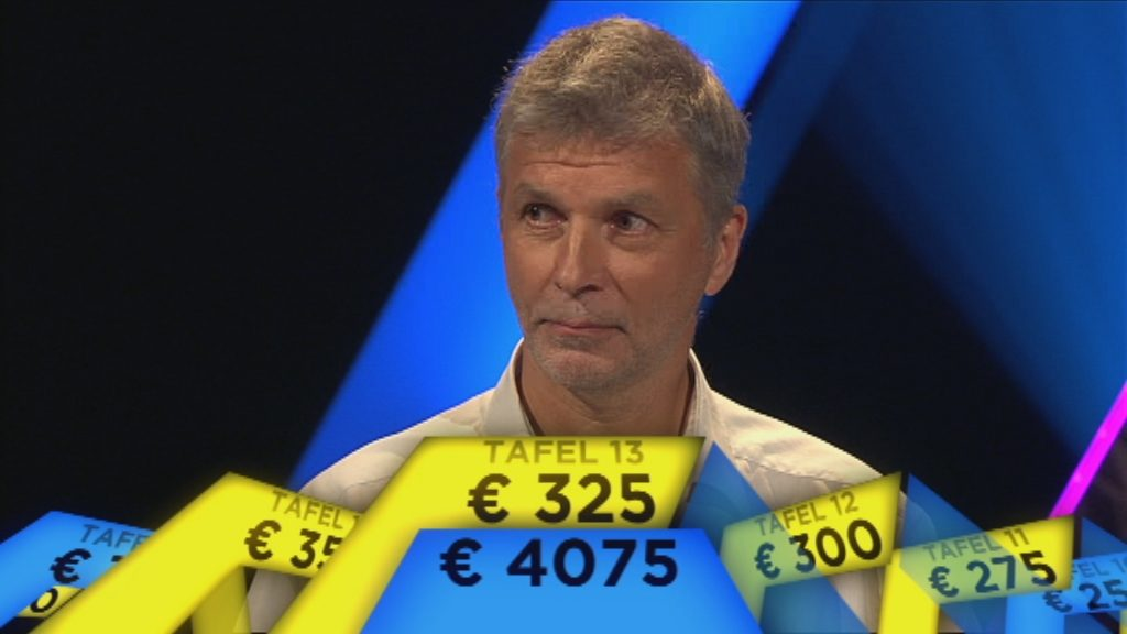 Embargo tot 1.9 om 20.00 u. - Geert Tanghe wint tafel 13