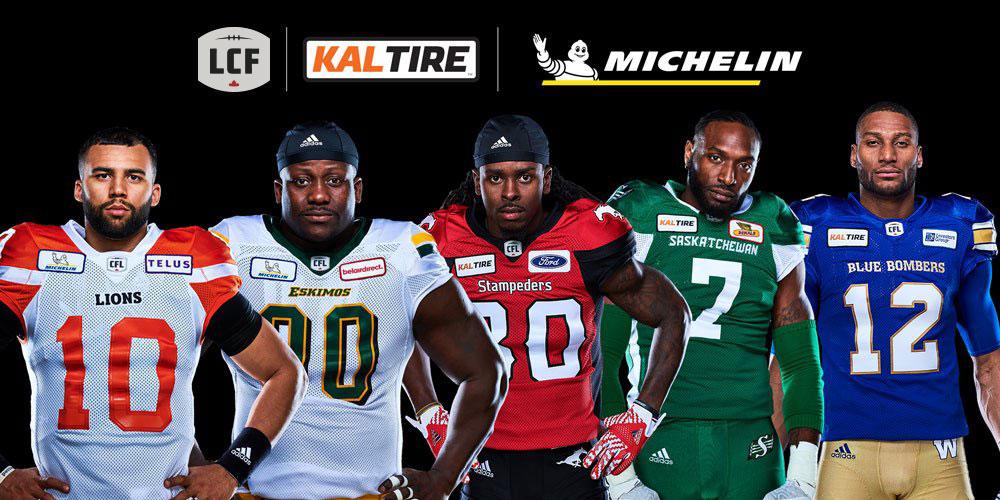 Les clubs de la division Ouest arboreront les logos de Kal Tire et de Michelin sur leur chandail jusqu'en 2019