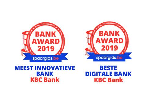 KBC Bank remporte deux prix Guide- épargne.be
