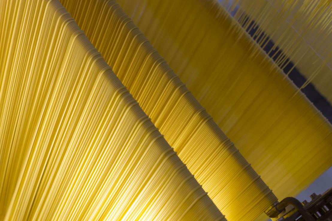 Spaghetti essiccamento