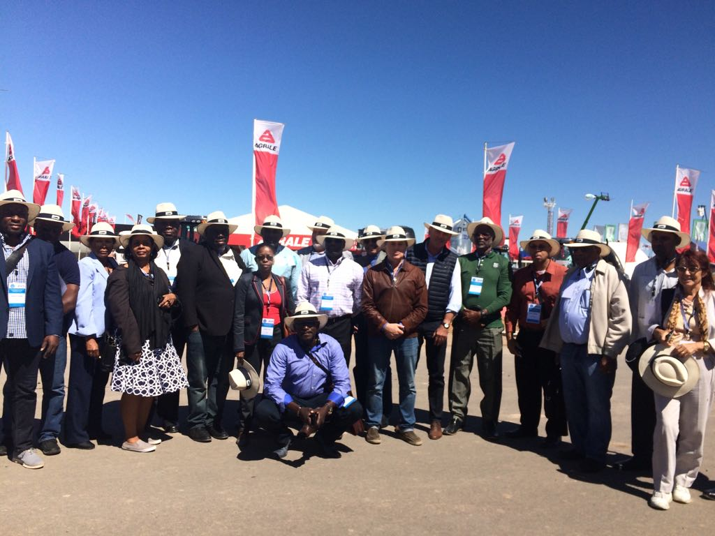 Delegates at an Agroexpo event
