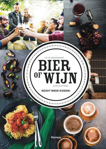Dit jaar geen discussie aan de kersttafel: in 'Bier of wijn' vind je 25 gerechten met het ideale glas erbij