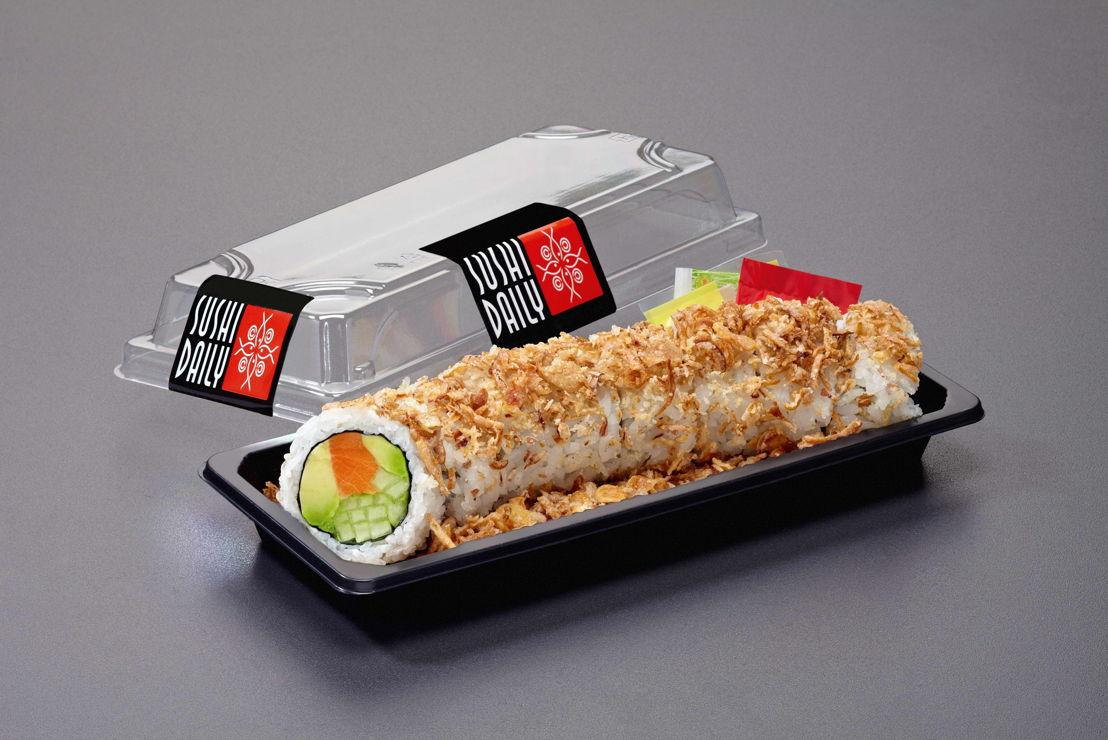 Zalm Crunch Roll