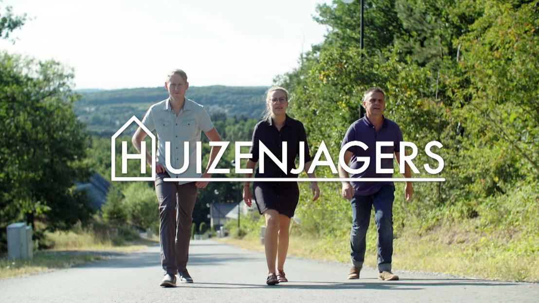 Makelaars Peter, Jeroen en Maïté openen huizenjachtseizoen in de Ardennen