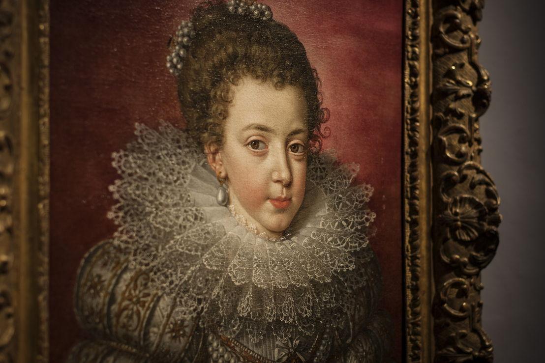 Portret van Elisabeth van Frankrijk<br/>Frans Pourbus de Jonge <br/>(c) foto Ans Brys