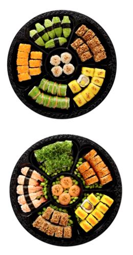 Les fêtes de fin d'année selon Sushi Daily : sushis au saumon et … au foie gras