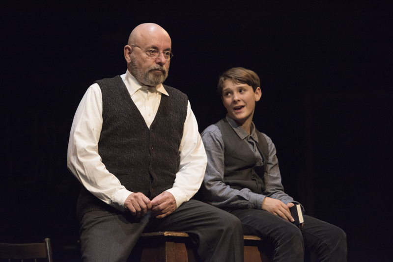 Paul Rainville and Simeon Sanford Blades in The Children's Republic by Hannah Moscovitch / Photos by David Cooper
