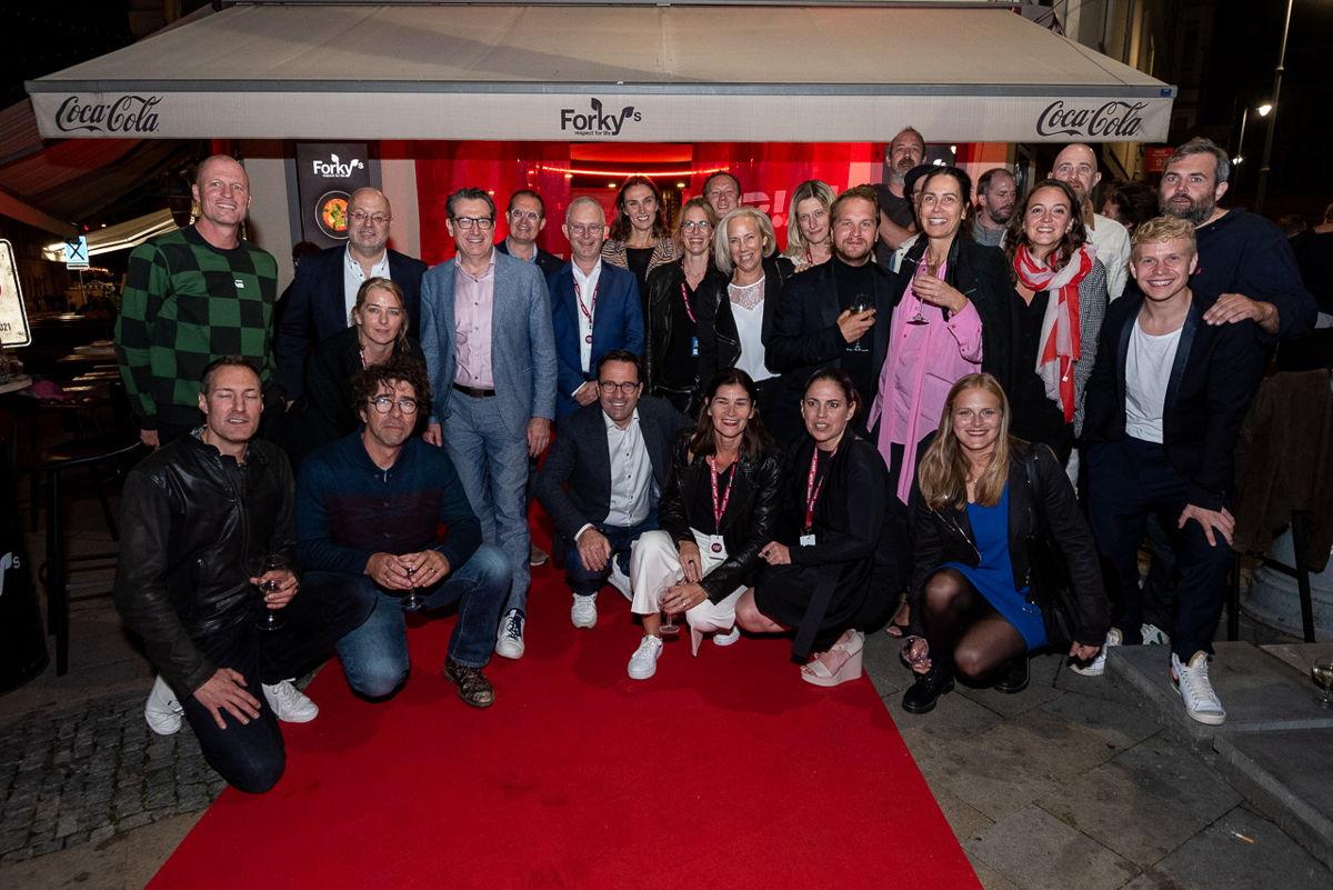 De Vlaamse delegatie op het Serial Killer festival