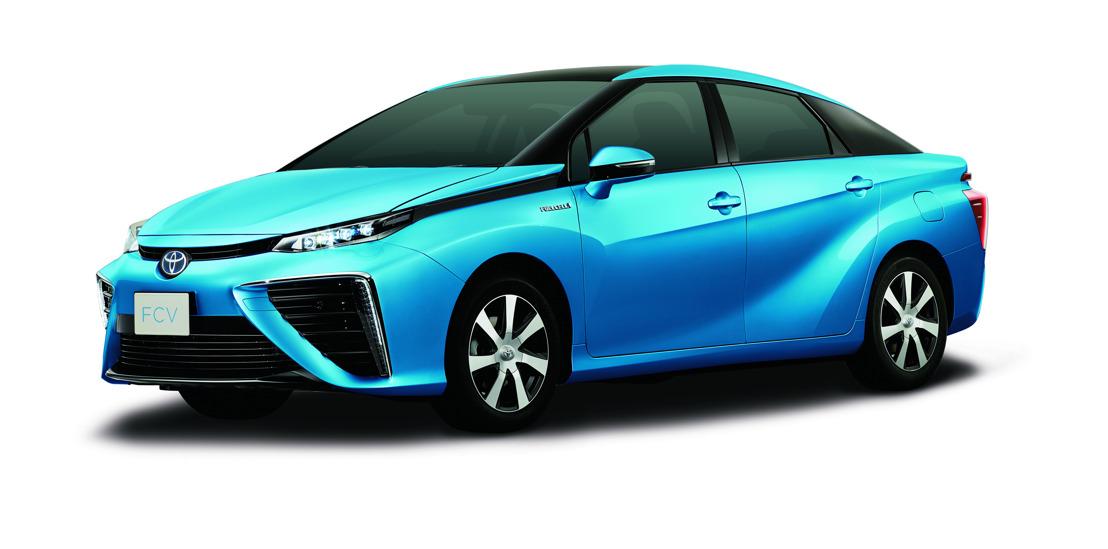 Toyota onthult het koetswerkdesign van zijn brandstofcel berline
