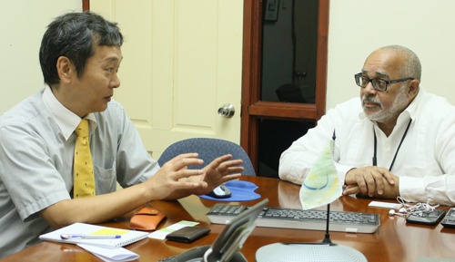 JICA Representatives pay Courtesy Visit to the OECS Commission