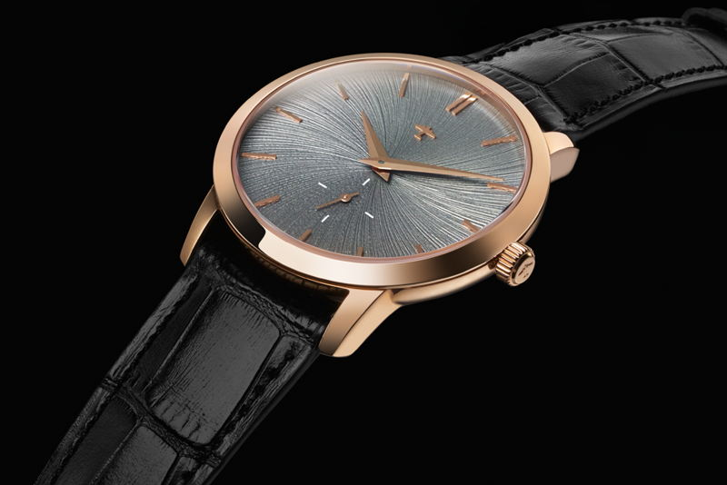 Progeny Rose Gold - Schist concept dial - 2