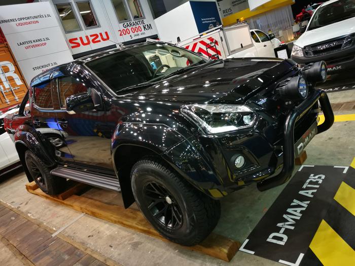 Isuzu lanceert D-Max Arctic Truck op autosalon