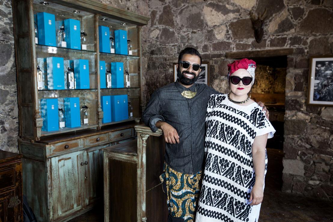 Los chefs Norma Listman y Saqib Keval