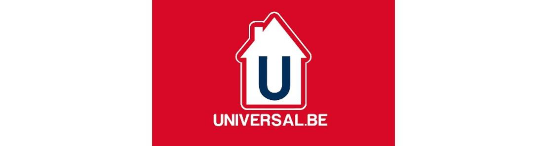 Persbericht : UNIVERSAL.BE op de Beurs