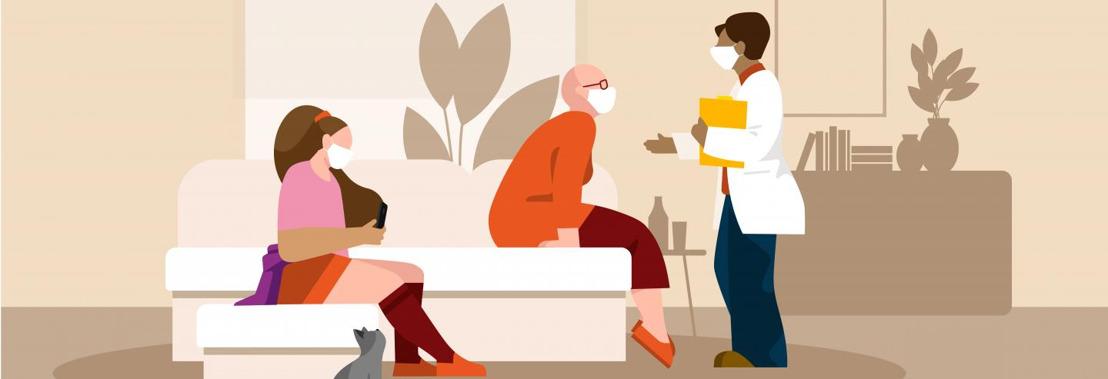 Kom op tegen Kanker stelt doelstellingen en randvoorwaarden voor thuishospitalisatie scherp