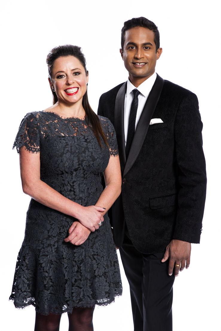 Myf Warhurst & Jeremy Fernandez host the Australian of the Year Awards