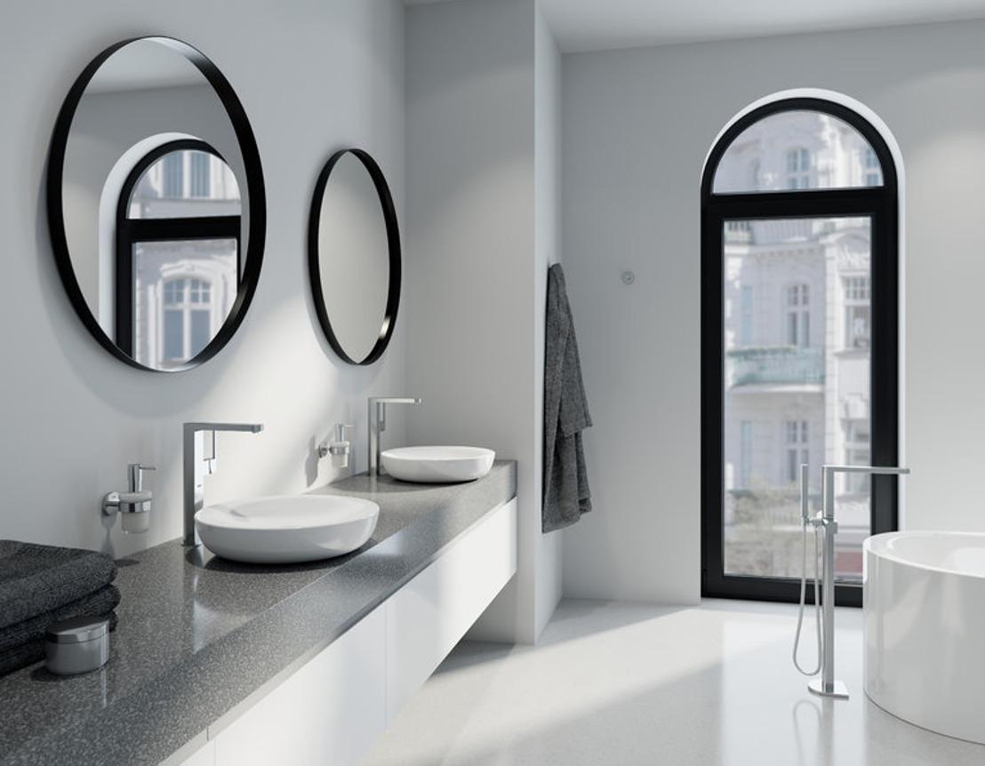 Nouvelle collection de robinets GROHE Plus: précision numérique et design architectural
