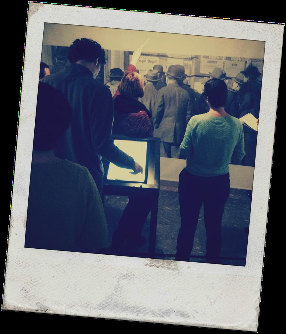 Op onderzoek in de tentoonstelling