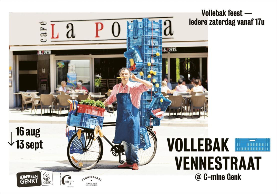 Vollebak Vennestraat - Straatfeest - LABO vzw voor Stad Genk -<br/> Henry van de Velde Communication Award Nominee
