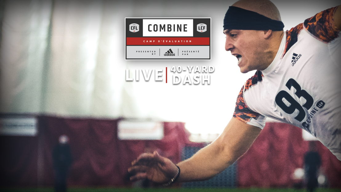 CFL Combine presented by adidas, live from Saskatchewan