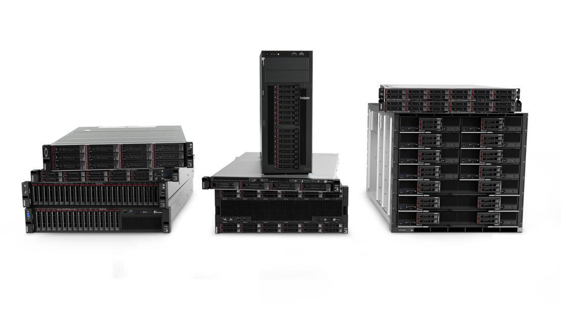 Lenovo aide les clients à profiter au maximum de la révolution de l'intelligence avec son plus vaste portefeuille pour centre de données à ce jour