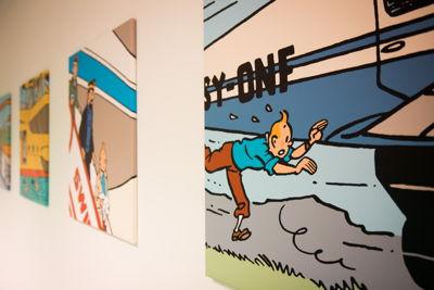 Belgian character -  universe of Tintin