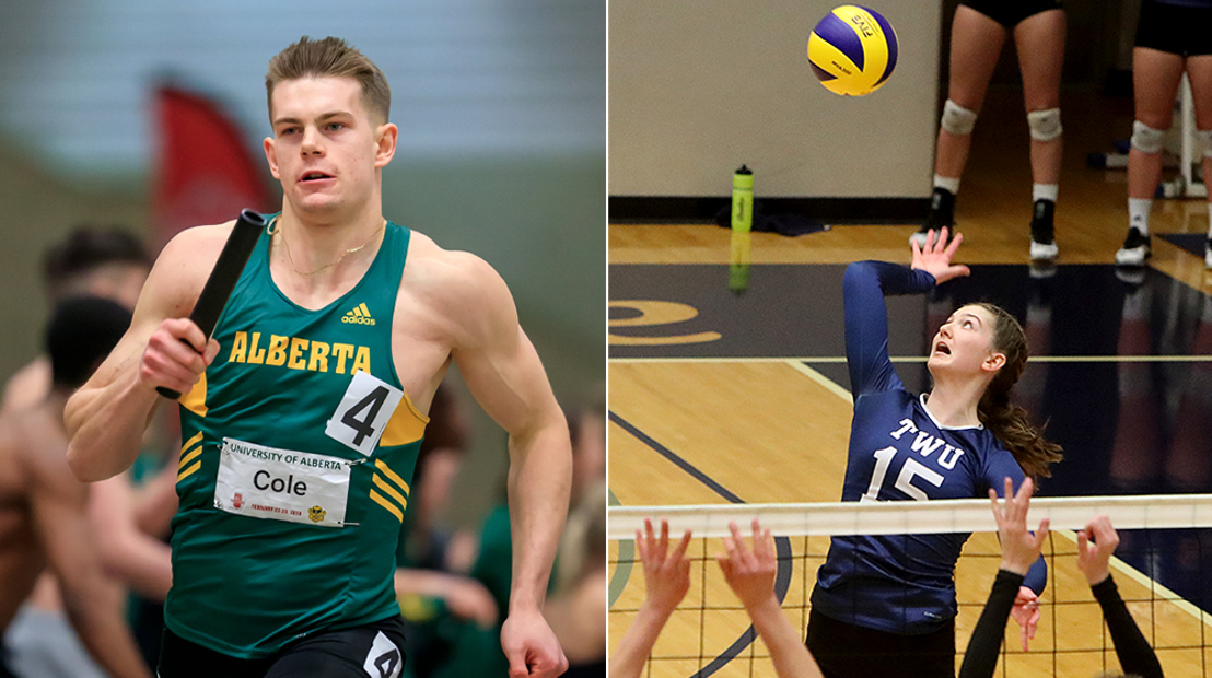 CW three stars: Cole, Purdy earn weekly conference honours