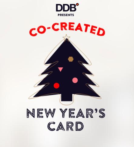DDB Brussels presenteert de co-created wenskaart