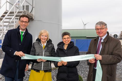 Trois nouvelles éoliennes dans la zone d'activité de Geel-West