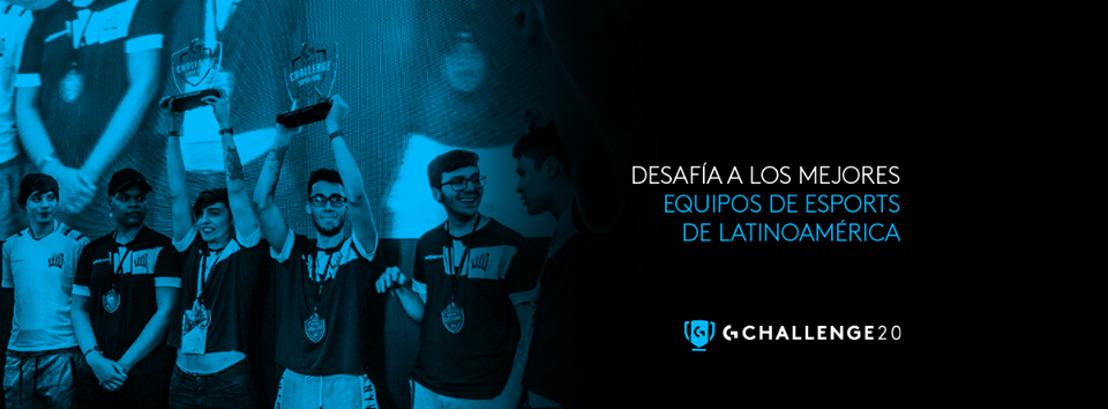 Sé parte de los eSports y participa en el Logitech G Challenge 2020 ¡No te quedes fuera de la competencia!