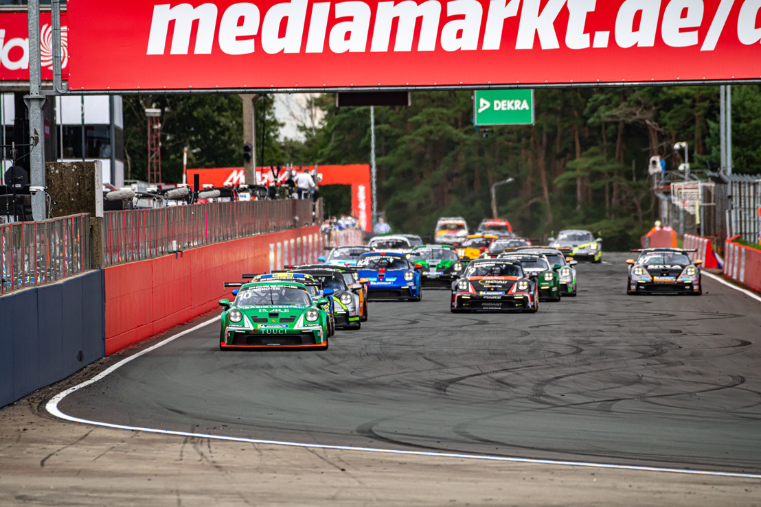 Le sprint final est lancé pour la Porsche Carrera Cup Benelux