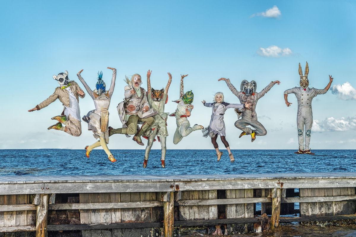 Cirque du Soleil JOYÀ en Vidanta Riviera Maya. Foto cortesía de José Gallardo