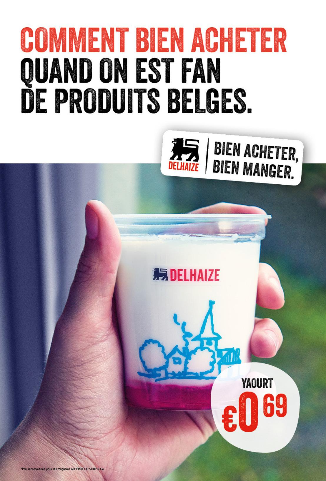 Delhaize vient d'être élu  'Retailer of the year 2015' et déballe maintenant sa nouvelle campagne de communication surprenante.