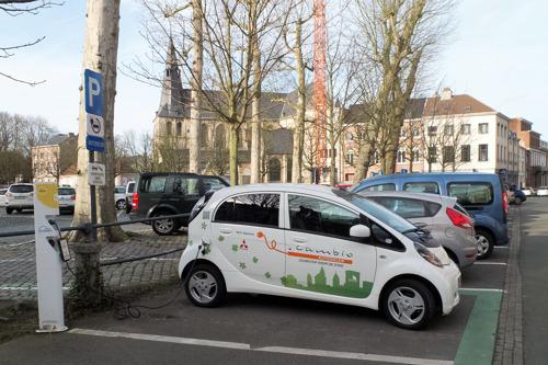 Deelwagens in opmars in Leuven