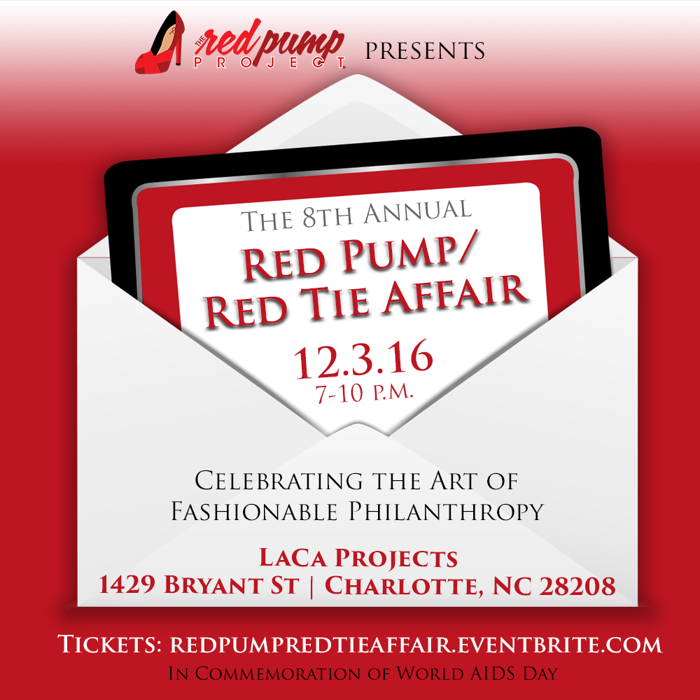 The 8th Annual Red Pump/Red Tie Affair to Commemorate World AIDS Day on Dec. 3