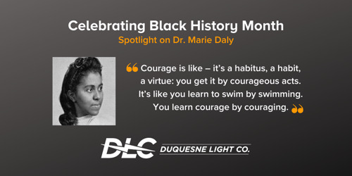 Black History Month: Spotlight on Dr. Marie Daly